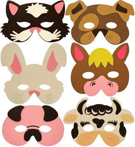CHILDREN'S EVA FARM ANIMAL MASK