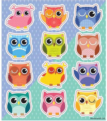 OWL FUN STICKERS