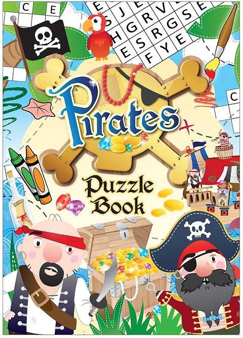PIRATES POCKET PUZZLE BOOK