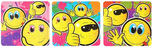 SMILEY FACE JIGSAW PUZZLE