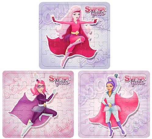SUPER GIRLS JIGSAW PUZZLE