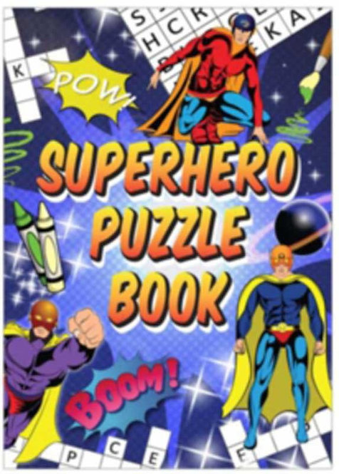 SUPER HERO POCKET PUZZLE BOOK