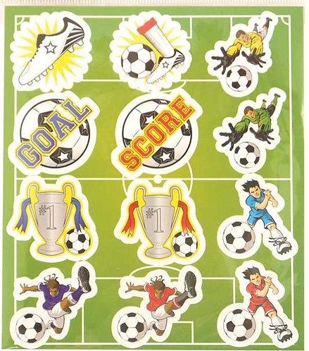 FOOTBALL FUN STICKERS