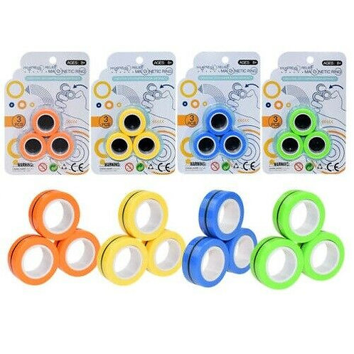 MAGNETIC RINGS FIDGET TOY