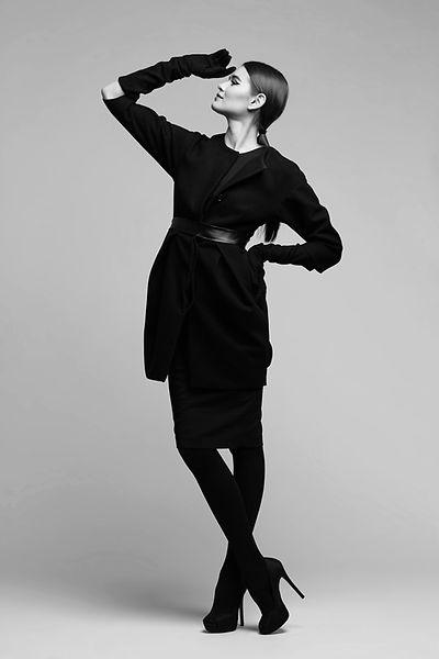 modèle de haute couture