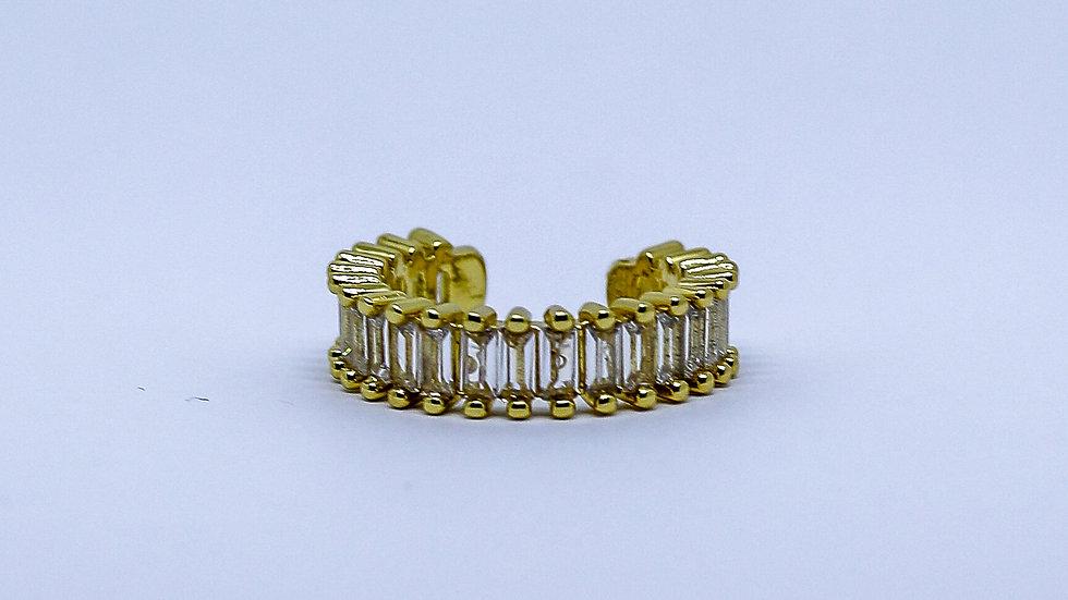 white zicronium ring