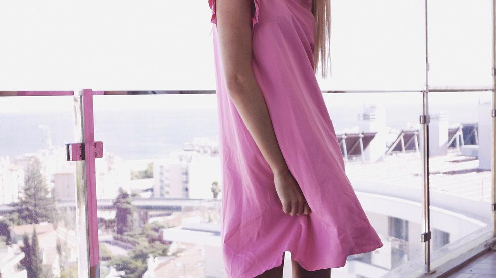 rosie pink dress