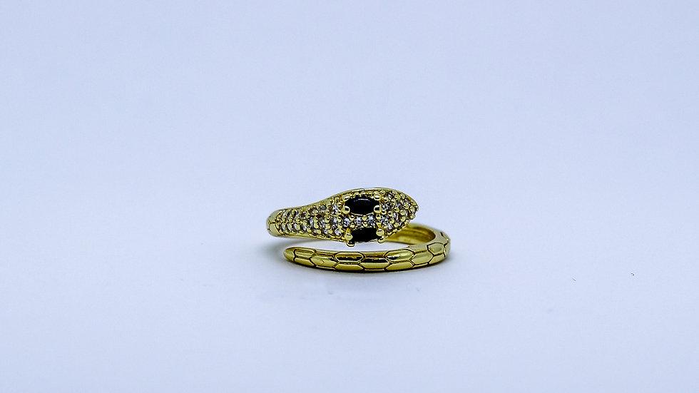 snake black ring