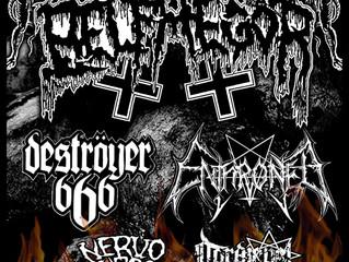 Belphegor/ Enthroned/ Deströyer 666 + guests at The Dome, London