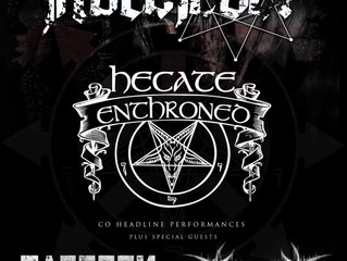NORDJEVEL + HECATE ENTHRONED plus special guests @ Boston Music Room, London