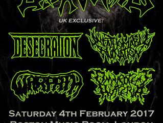 DISAVOWED (UK Exclusive) @ Boston Music Room, London