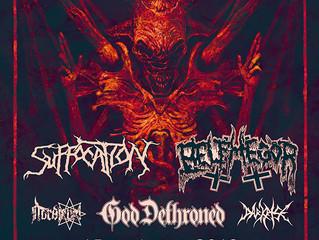 SUFFOCATION + BELPHEGOR + GOD DETHRONED at The Underworld, London