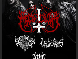 MARDUK / ARCHGOAT / VALKYRJA / ATTIC at The Underworld, London