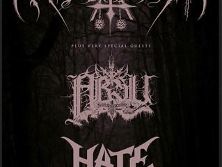NARGAROTH + ABSU + HATE @ Boston Music Room, London