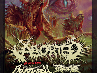 ABORTED + CRYPTOPSY + INGESTED + UNFATHOMABLE RUINATION - The Dome, London