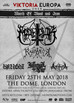 MARDUK / RAGNAROK / INFERNAL WAR at The Dome, London