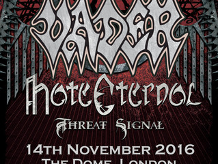 VADER + HATE ETERNAL @ The Dome London