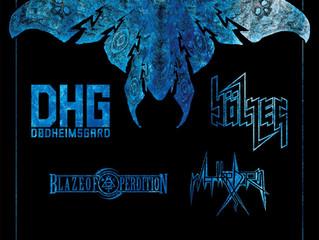 DØDHEIMSGARD/ BÖLZER/ BLAZE OF PERDITION/ MATTERHORN at The Underworld