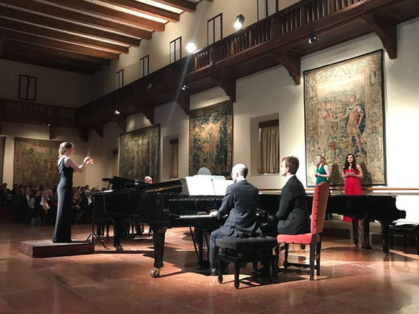 Georg Solti Accademia, Venice, April 2018