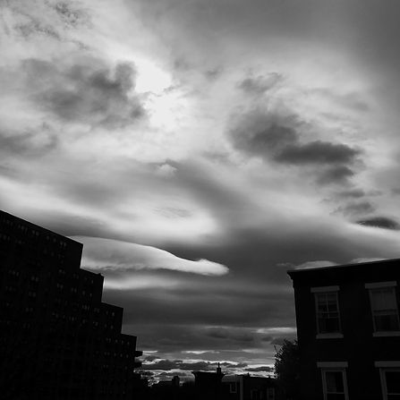 under a covid cloud