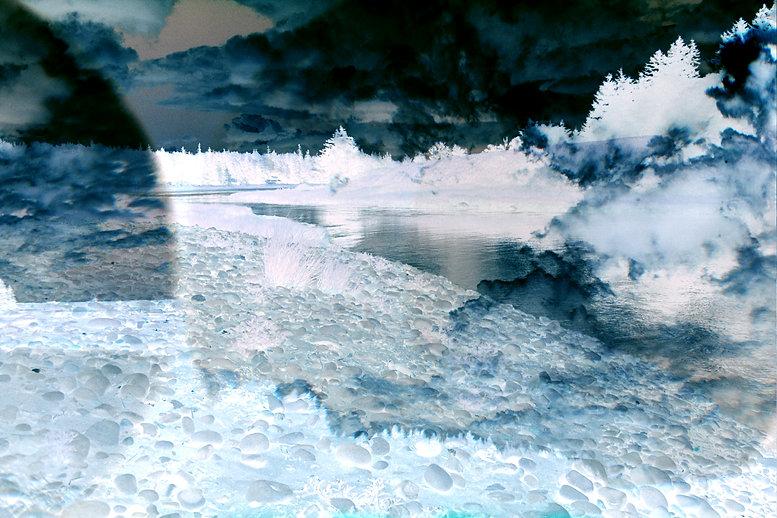 Transitory Space, Nova Scotia, Canada, #379 Blue