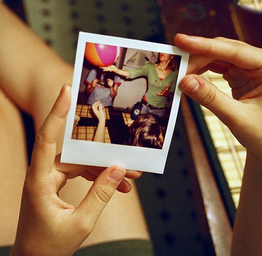Polaroid in Hand