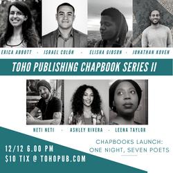 Chapbooks Launch Series II