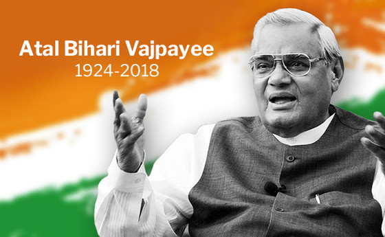 """Atal Bihari Vajpayee"" the leader who made India a Nuclear power state is no more."