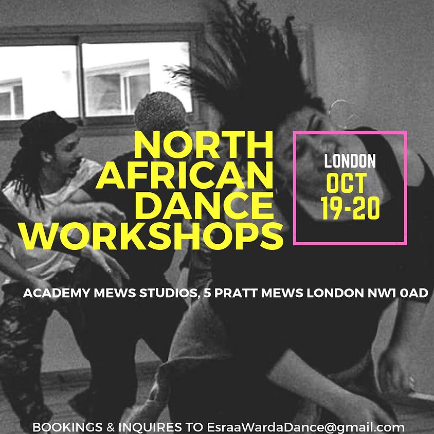 LONDON: NORTH AFRICAN DANCE WORKSHOPS W/ESRAA WARDA