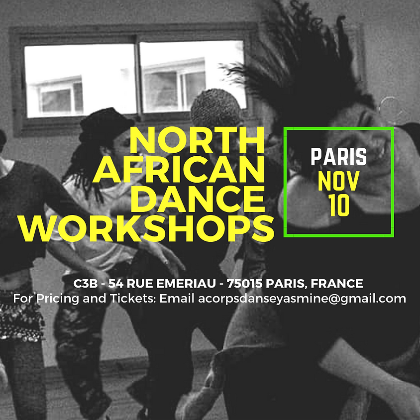 PARIS: NORTH AFRICAN DANCE WORKSHOPS!