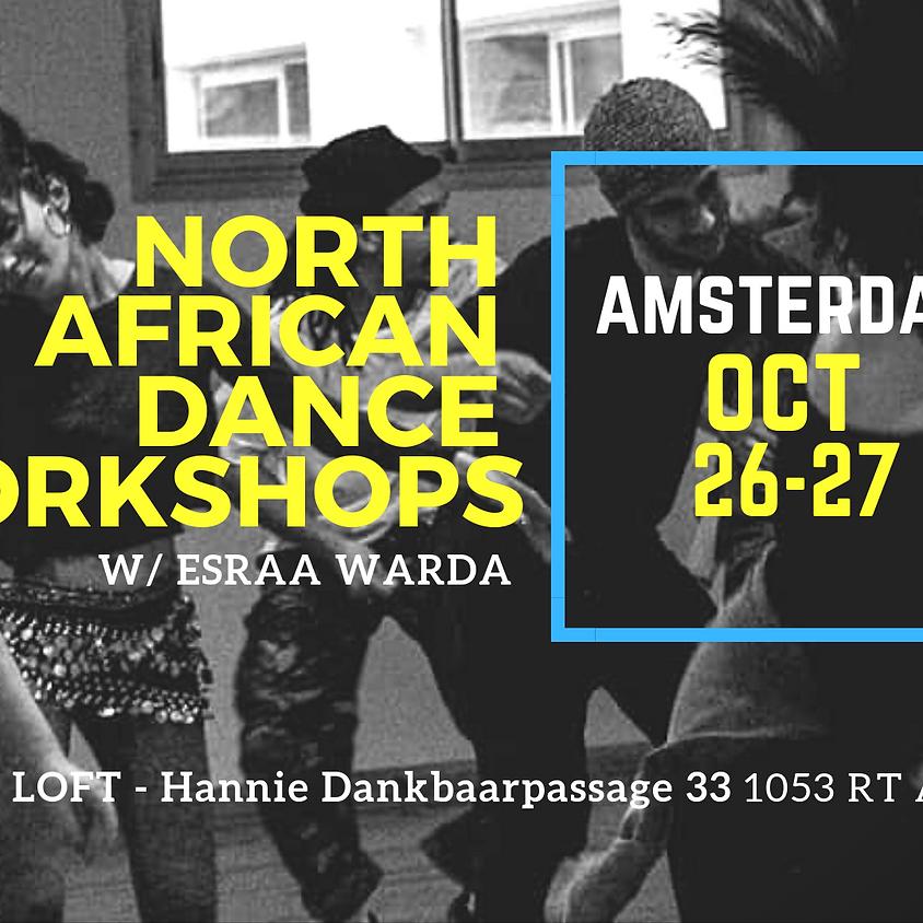 AMSTERDAM: NORTH AFRICAN DANCE WORKSHOPS!