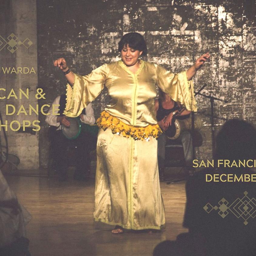 SAN FRANCISCO: MOROCCAN AND ALGERIAN DANCE WORKSHOPS