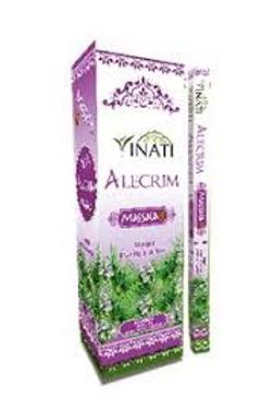 Incenso indiano Vinati alecrim (magia, purifica o ser). Caixinha com 8 varetas