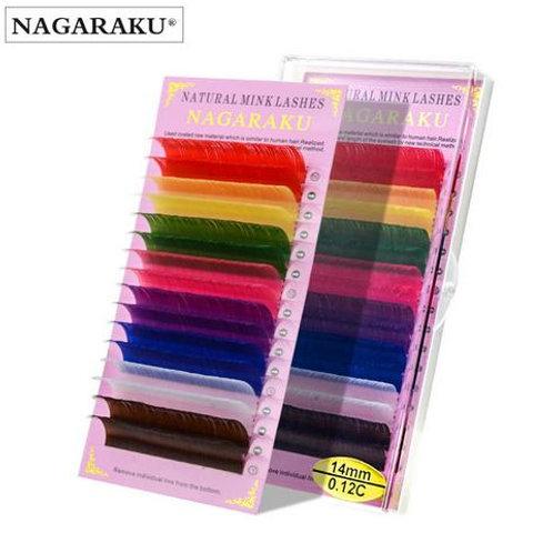 Ресницы Nagaraku Цветные