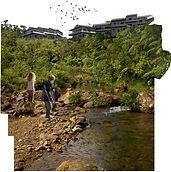 arquitectura paisajsmo el barro de rio altos del maria laap panama