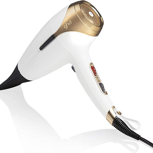 GHD helios™ hair dryer in stylish White