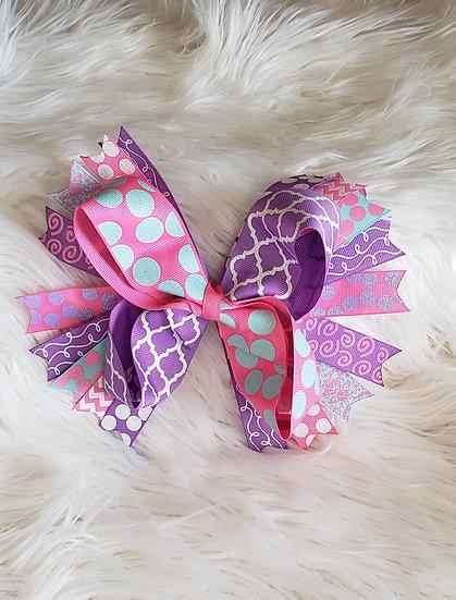 Pink/Purple Bow