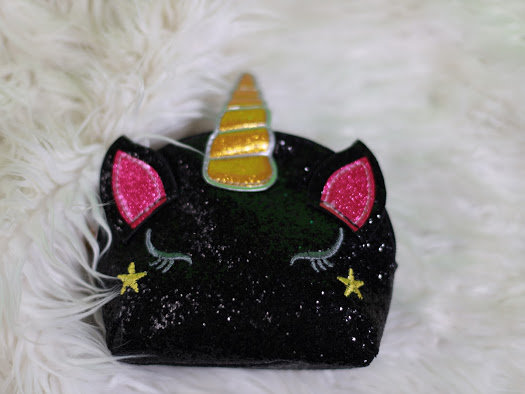 Unicorn Sparkles Sequin Shoulder Purse