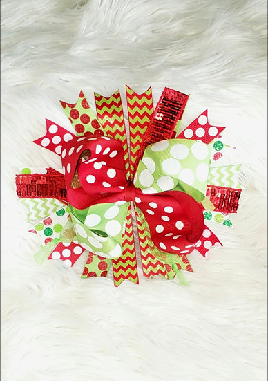 Joyful Christmas Bow