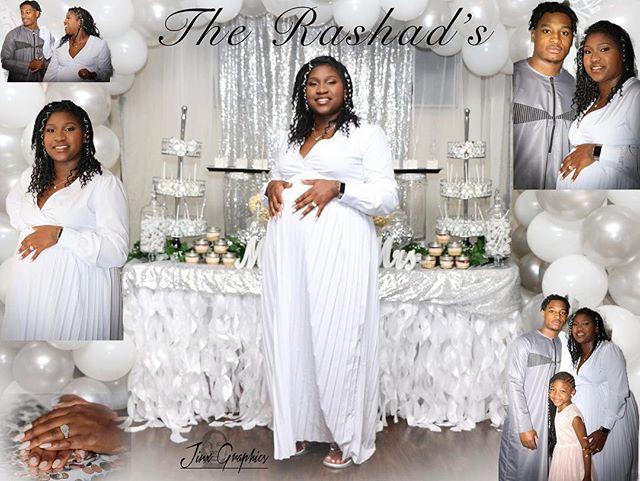 The Rashad's #jinxgraphics #wedding #con