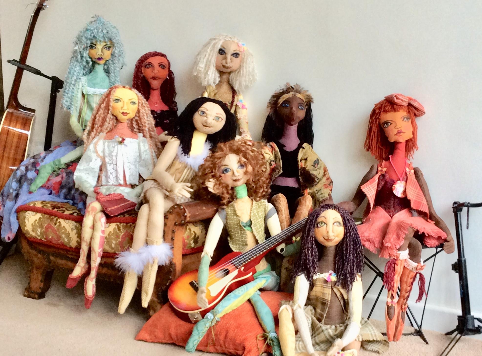The very first Doumdim's Dolls