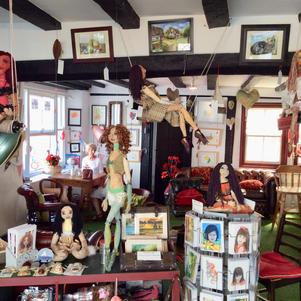 My Coffee & Dolly Shop.