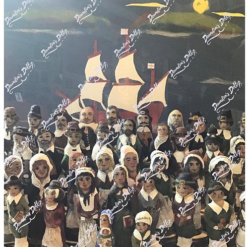 The Pilgrims of The Mayflower 400