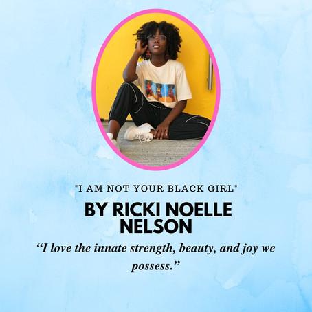 Today in the Writer Spotlight: Ricki Nelson!