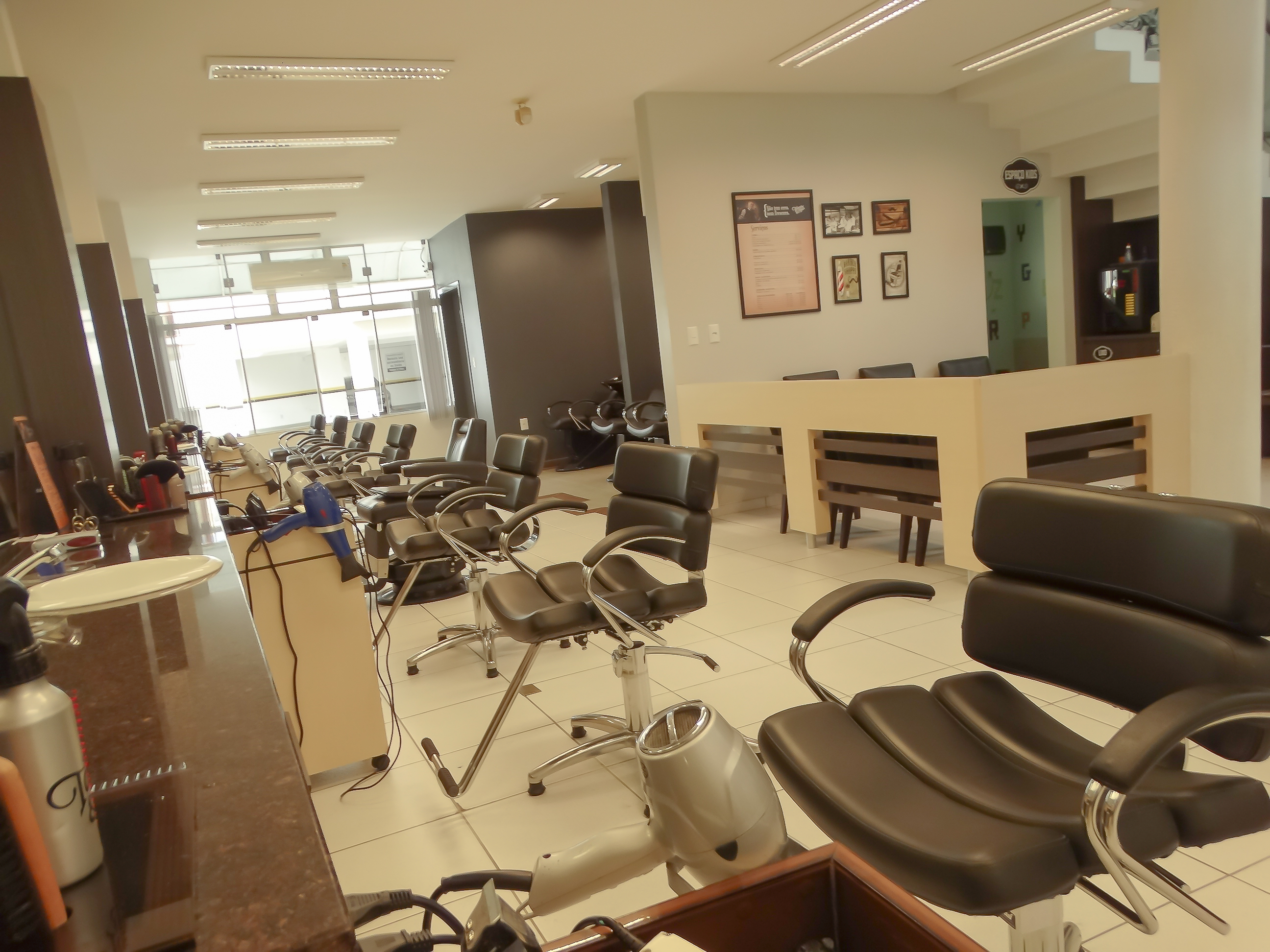 Cadeiras piso inferior