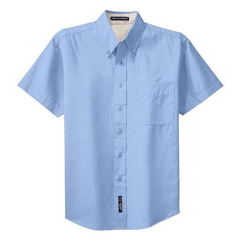 Short Sleve Easy Care Shirt- Mens