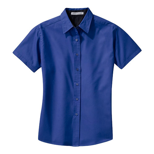 Short Sleve Easy Care Shirt - Ladies