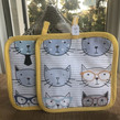 Bags with cat face design