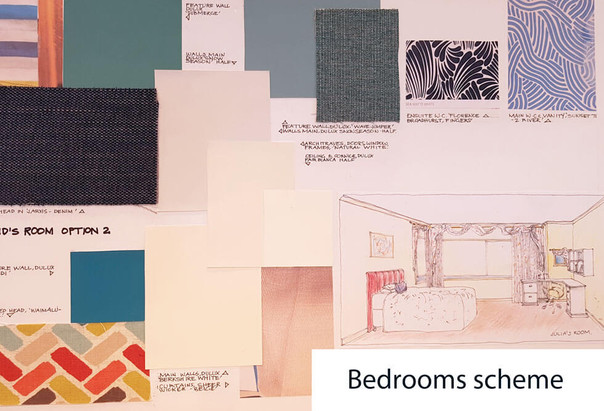 Bedrooms schemes