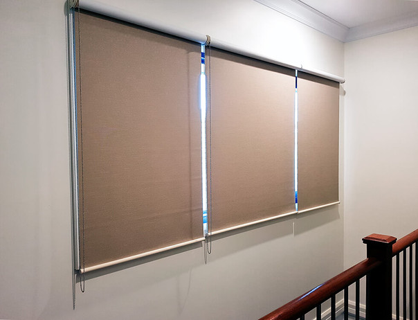 Stairwell blinds